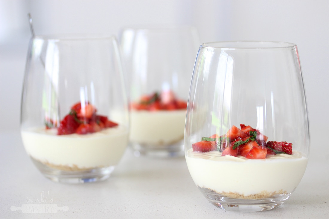 4 ingredient cheesecakes