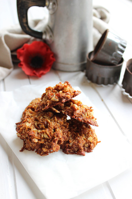 Anzac biscuit food photography